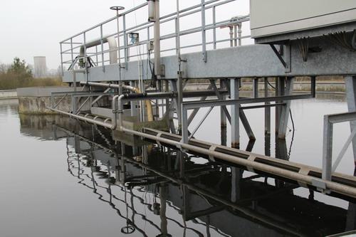 参观德国污水处理工厂